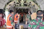 TNI Kerahkan Hercules Angkut Logistik ke Pulau Galang