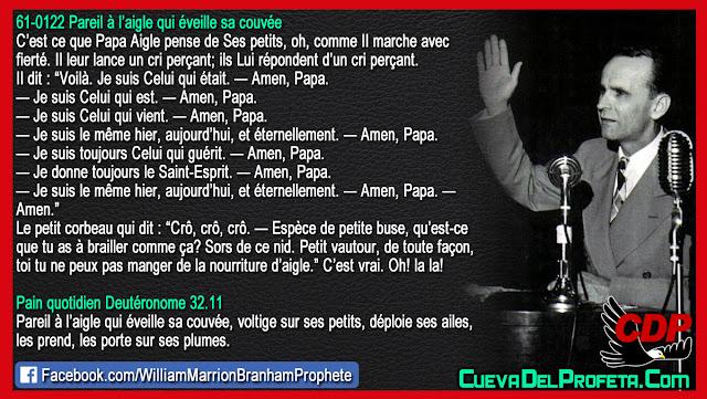 Amen, Papa Aigle - William Branham