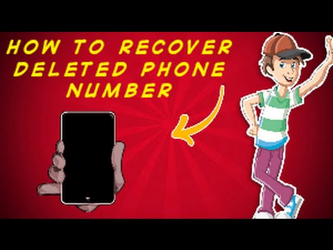 How to recover lost contacts from Android