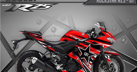 DECAL STICKER YAMAHA R25 FULL BODY