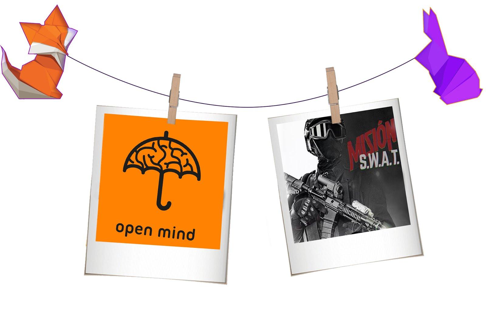 """Open Mind """"Misión S.W.A.T."""" (Barcelona)"""