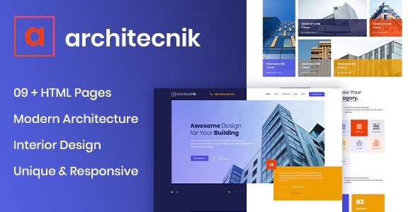 Architecture & Interior Design Agency Template