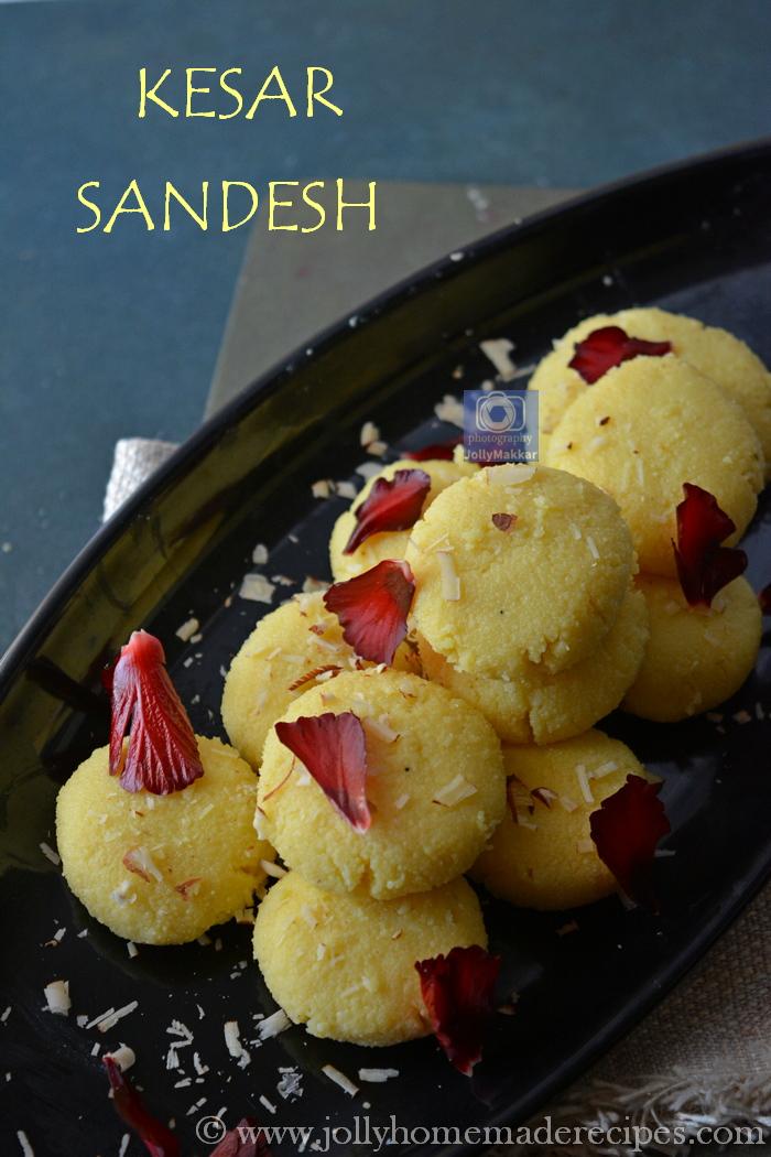 Sandesh Bengali Sweet Recipe