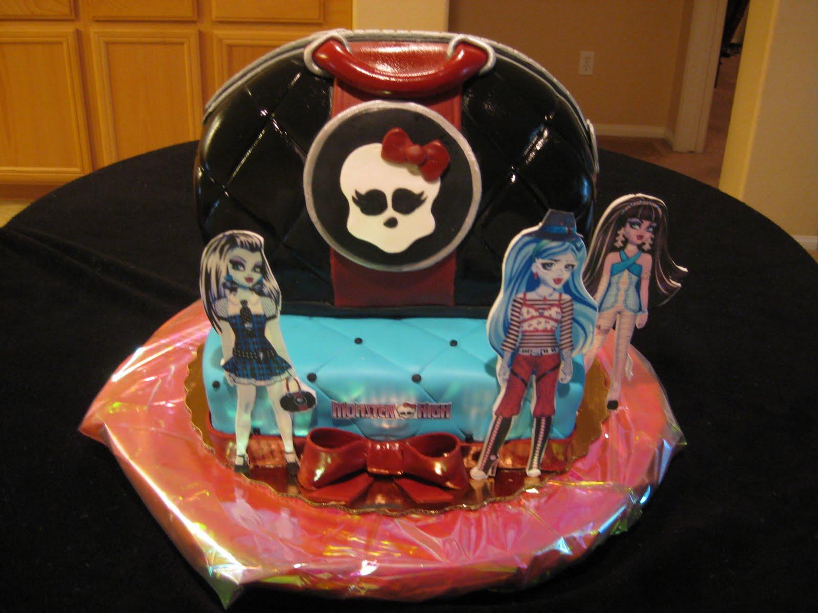 Sweet Bea S Monster High Cake