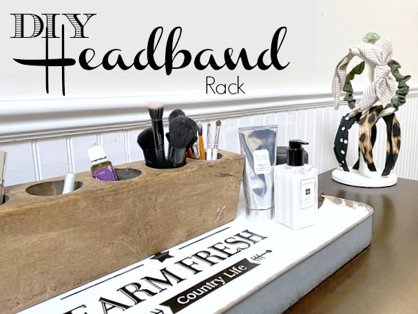 Headband Organization for the Bedroom