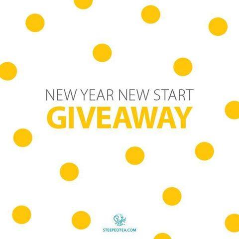 New Year, New Start - GIVEAWAY