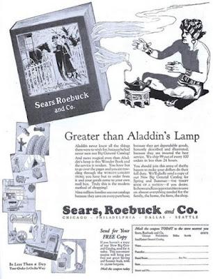 Sears Catalog - Greater than Aladdin's Lamp