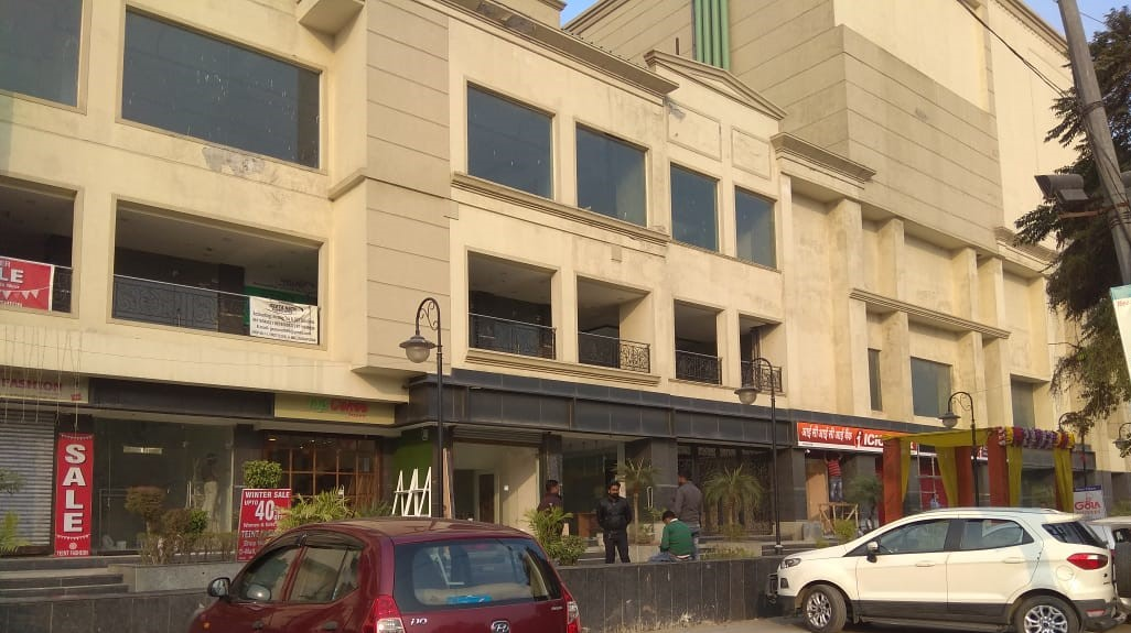 krishna apra d mall front ground floor shop for sale