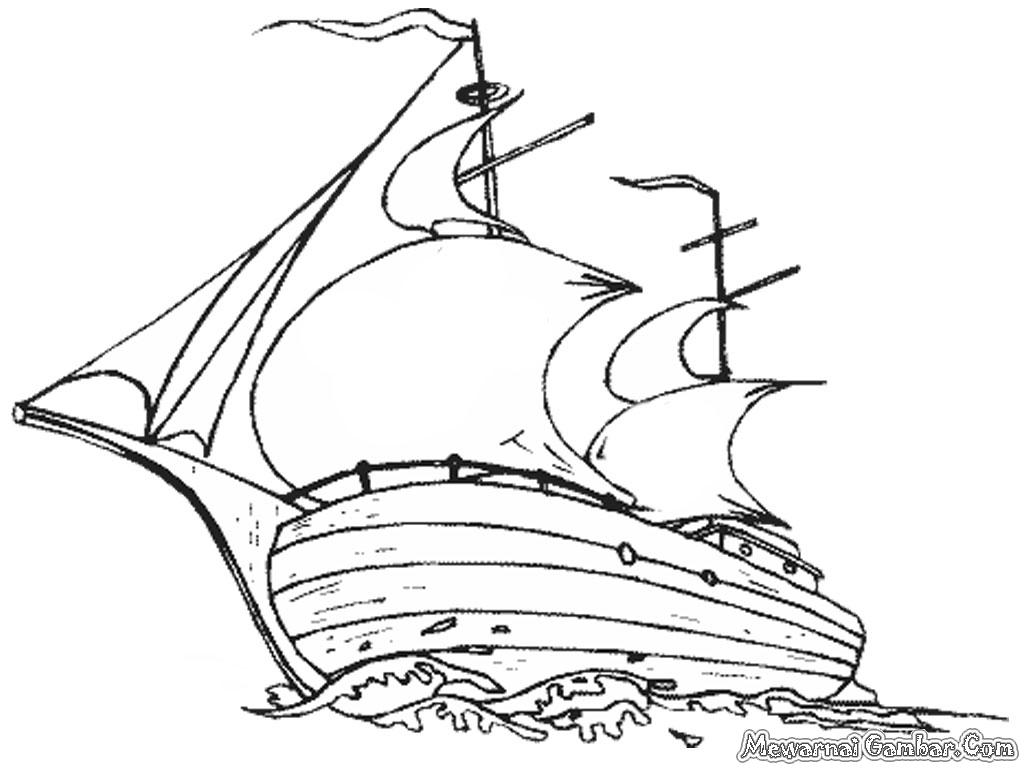Gambar Kapal Laut Untuk Diwarnai Wwwtollebildcom