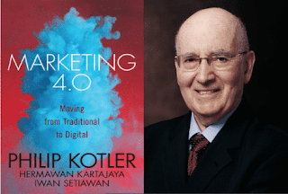 How do traditional and digital marketing compare according to Kotler?