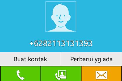 Nomor HP Penipuan Telkomsel 082113131393