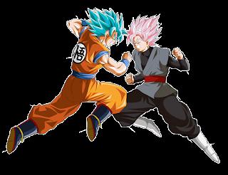Black Goku y Goku Blue