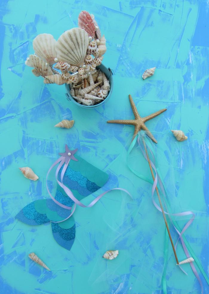 Valentina Vaguada: DIY, valetosDIY, mermaid, sirena, corona sinera. mermaid crown, boho style, mermaid birthday, crafts, under the sea, seashell, caracoles