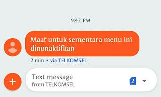 Telkomsel Tidak Bisa Internet