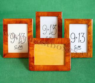 Рамочки для фотографий 9х13 массив кап, общая.