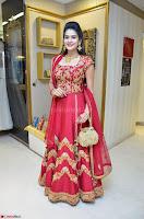 Jenny Honey in Stunning Dark Red Anarkali Dress at Splurge   Divalicious curtain raiser ~ Exclusive Celebrities Galleries 040.JPG