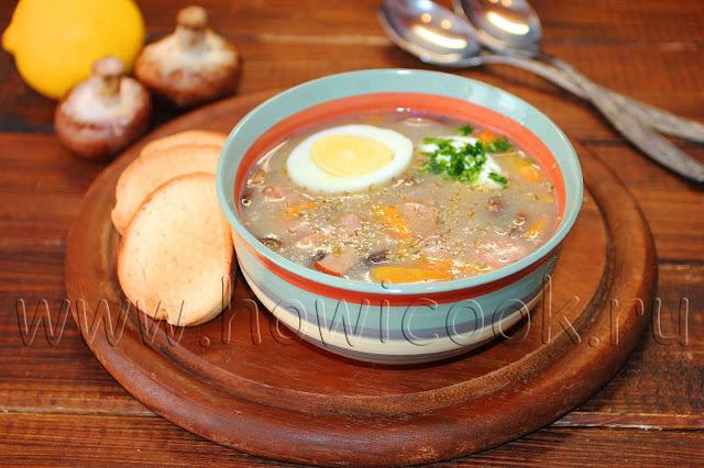рецепт польского супа журек