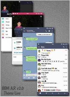 Download BBM Mod Line Messenger V3.0.1.25 Apk