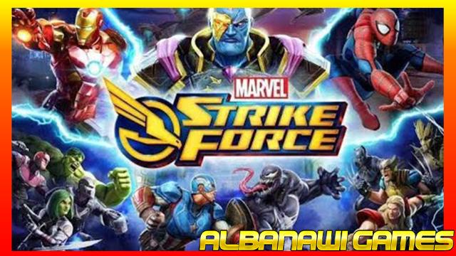 تحميل لعبة marvel strike force mod للاندرويد من ميديا فاير
