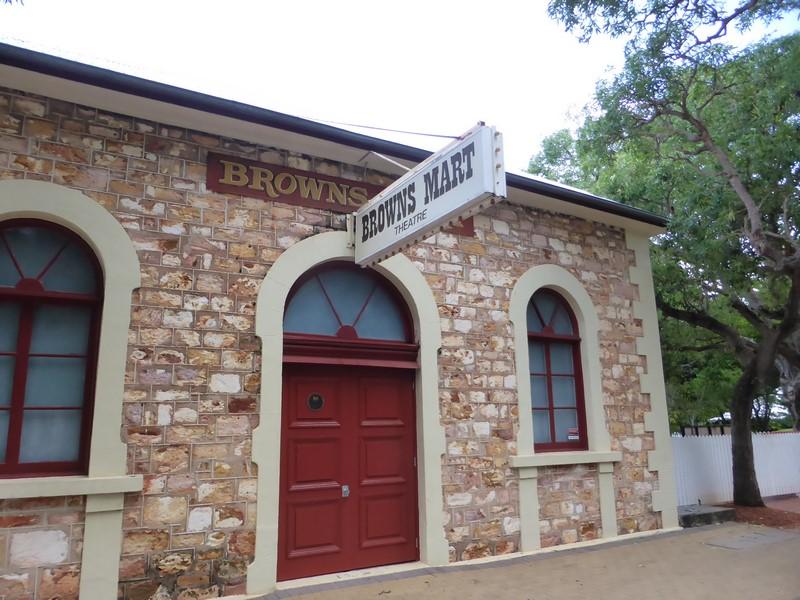 Una de las casas originales de la ciudad antigua en Darwin