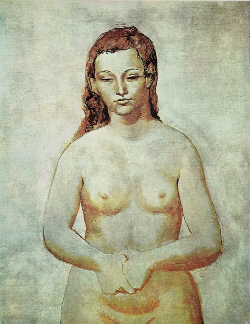 Picasso retrato de Fernande Olivier