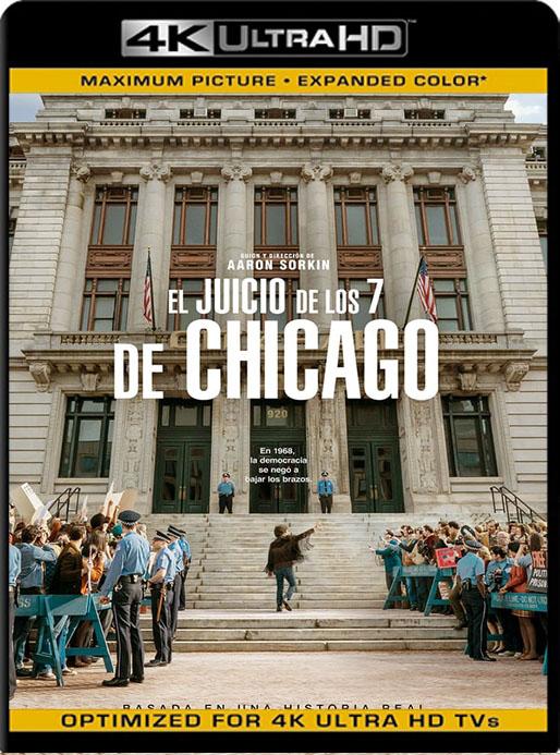 El juicio De Los 7 De Chicago (2020) 4K UHD HDR Web Latino [Google Drive] Tomyly