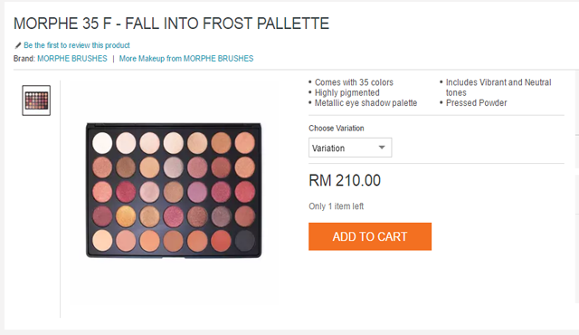 eyeshadow morphe