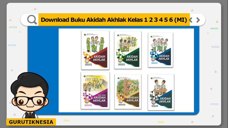 download gratis buku pdf akidah akhlak untuk mi