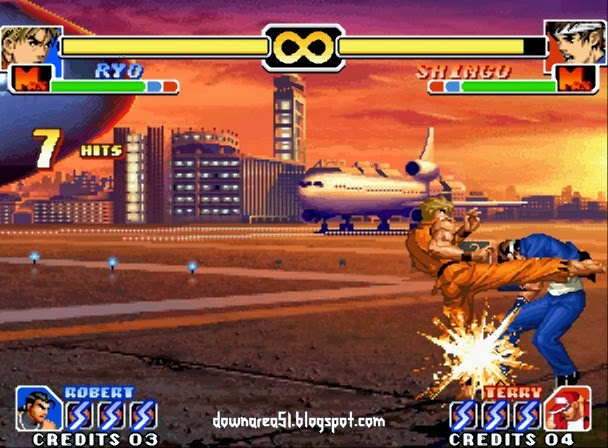 Ryo Super Move KOF 1999