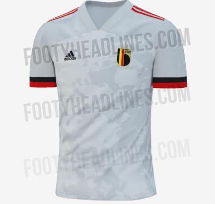 Kit Đội Tuyển Bỉ (Belgium) Dream League Soccer 2019