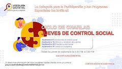 Ciclo de Charlas Jueves de Control Social