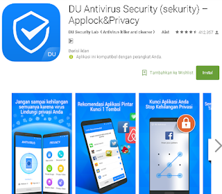 Ulasan Tentang DU Antivirus Security – Applock & Privacy