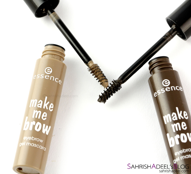 Make Me Brow Eyebrow Gel Mascara by Essence - Review & Swatches