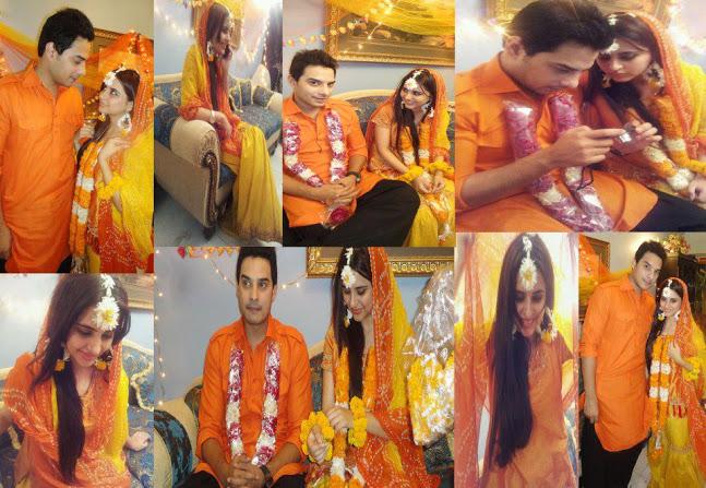 Mehndi Ceremony Sms : Kanwar arsalan fatima effendi wedding pictures hindi