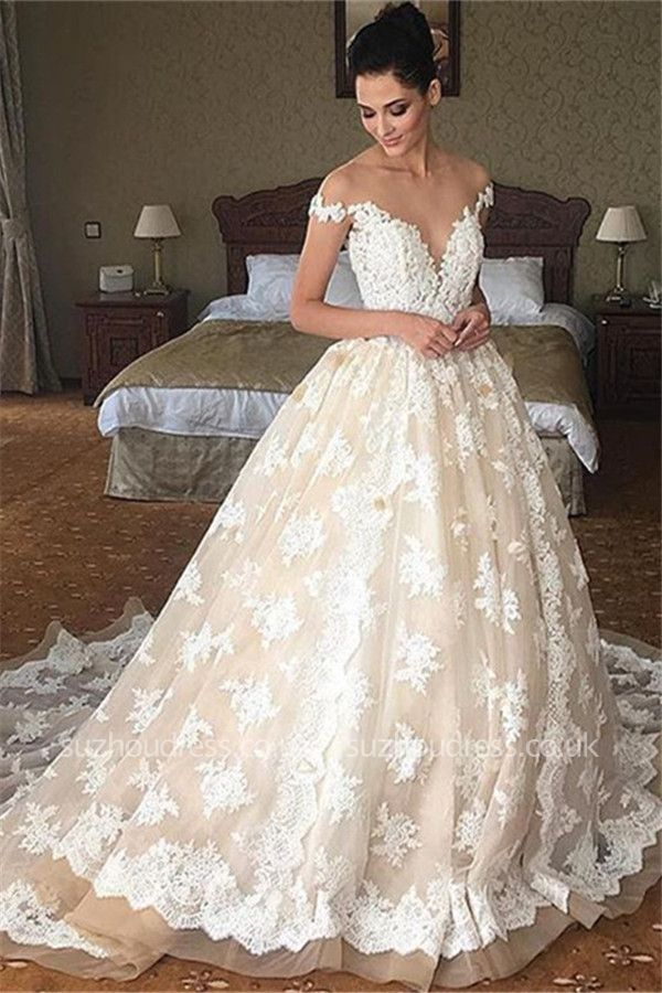 https://www.suzhoudress.co.uk/champagne-tulle-lace-ball-gown-gorgeous-wedding-dress-g21497?cate_2=7?utm_source=blog&utm_medium=ModernRapunzelBlog&utm_campaign=post&source=ModernRapunzelBlog
