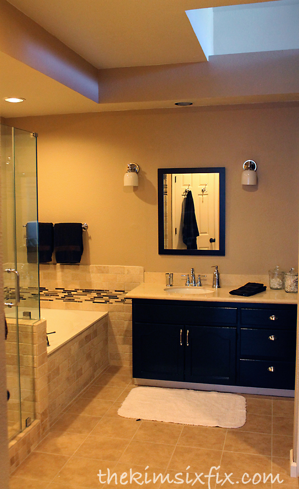 home depot kitchen remodel equipment repair the new vanity no longer has large fun-house plate ...