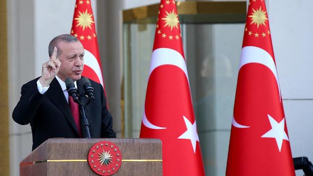 اردوغان يتوعد باستئناف العملية العسكرية في حال لم تنسحب المليشيات الكردية من شمال سوريا