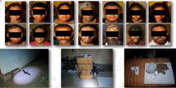 Capturan a 14 Sicarios del CJNG, desmantelaron la célula que operaba en Tecate