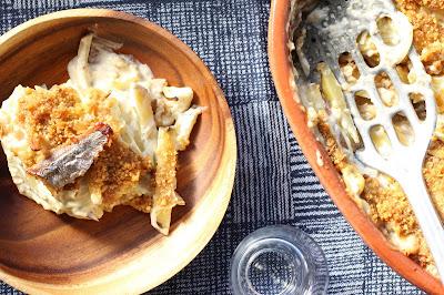 gratin pommes de terre sprats en boite
