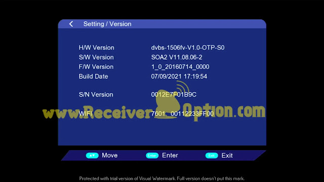 VANSTAR V8 PRO 1506FV 512 4M NEW SOFTWARE WITH OSN OK 07 SEPTEMBER 2021