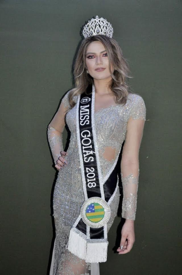 Cristina Gatti, Miss Goiás 2018. Foto: Carlos Robert
