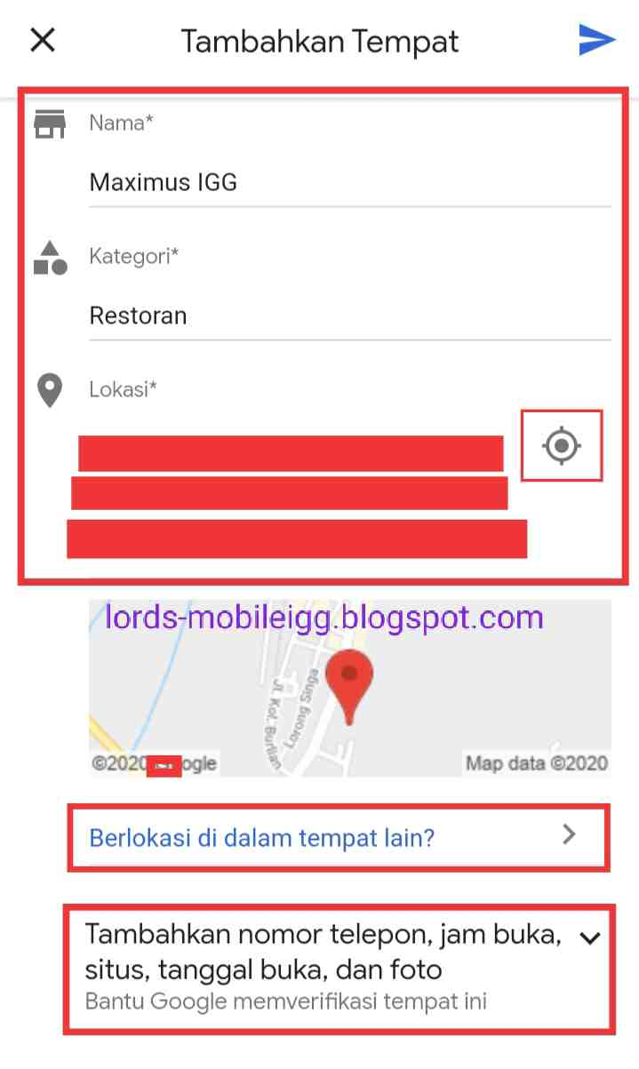 Cara Mendaftarkan Alamat Rumah Di Google Maps
