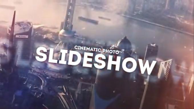 Cinematic Parallax Slideshow : Premiere Pro Templates