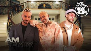 """DYAYHCZ7ERDOFO4YBJZNSEPIYM - J Balvin, Bad Bunny y Nio García rompiendo con el tremendo remix de """"Am"""""""