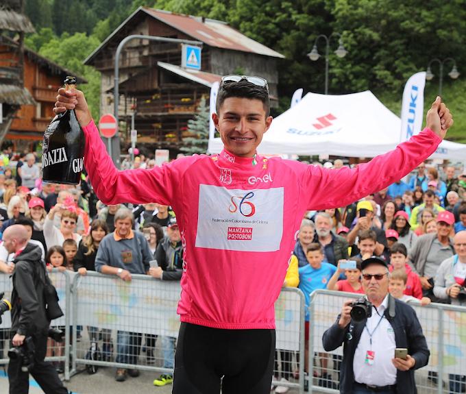 ¡En la mira! El 'Pijao' Camilo Ardila podría cambiar de equipo, tras destacarse en el Giro Sub-23