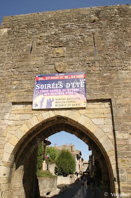 La Porta d'Aval è l'accesso fortificato alla città di Mirepoix