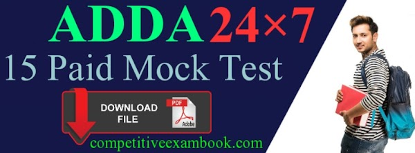 IBPS 15 Paid Mock Test By Adda247