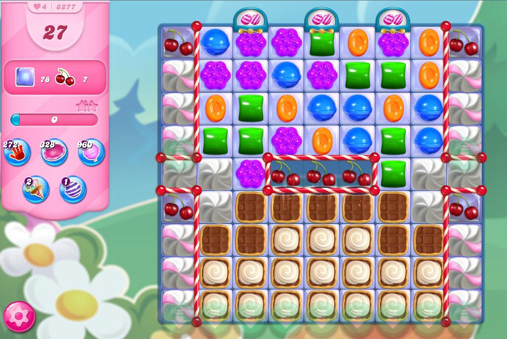 Candy Crush Saga level 8277
