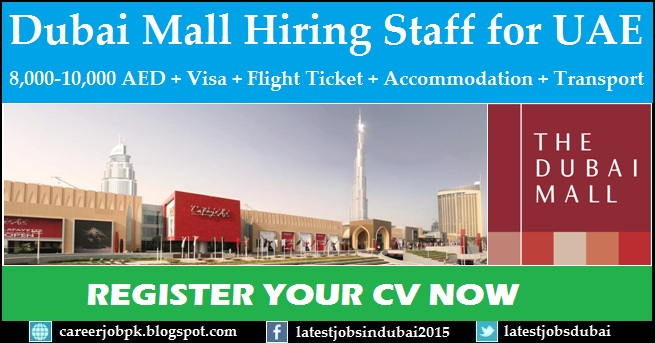 Dubai Mall Careers And Job Vacancies Company Profile: The massive expansion of The Dubai Mall, the world's largest shopping and entertainment destination has commenced in preparation to welcome over million annual visitors to the mall.