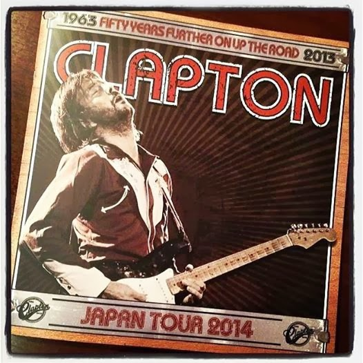 Eric Clapton Japan Tour 2014 at Yokohama Arena